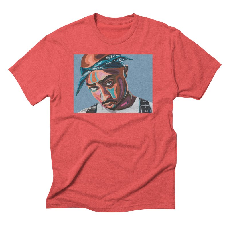 Tupac Men's T-Shirt by Carla Mooking Artist Shop