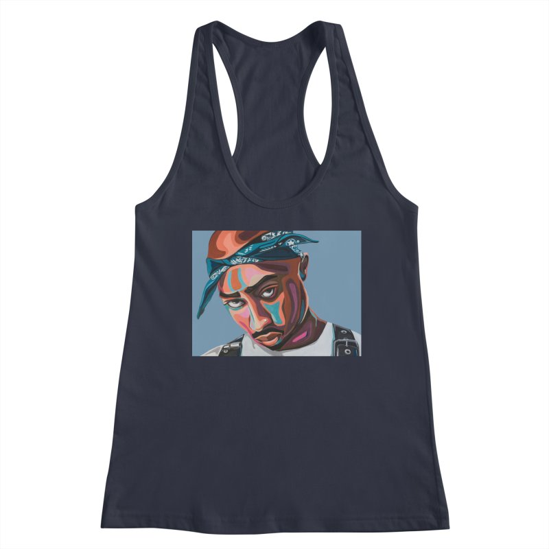 Tupac Women's Tank by Carla Mooking Artist Shop