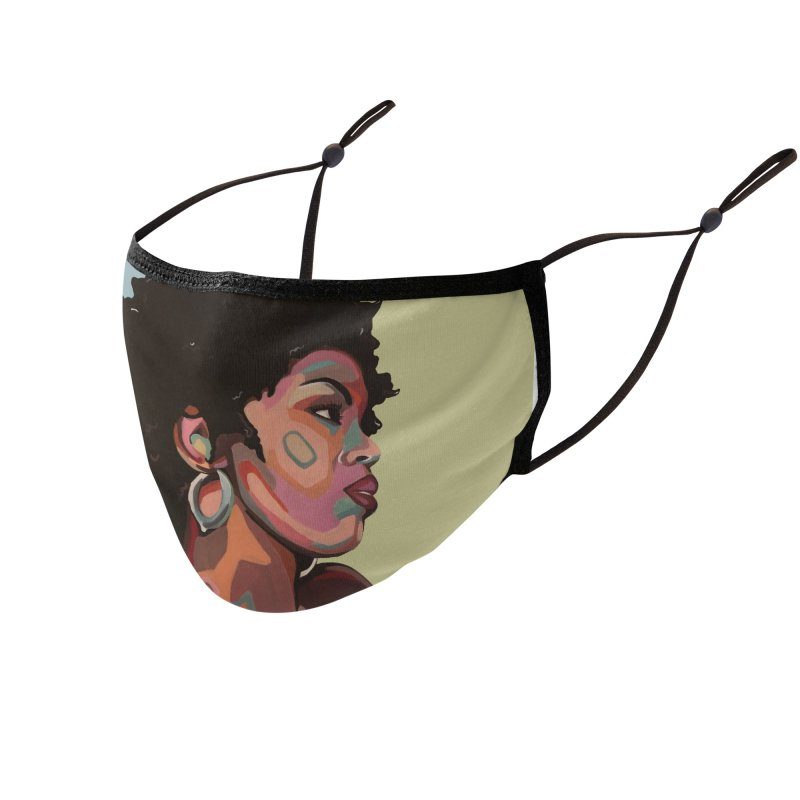 Lauryn Accessories Face Mask by Carla Mooking Artist Shop