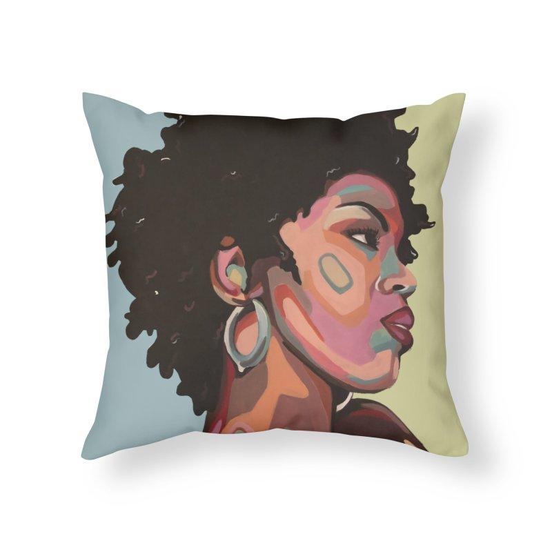 Lauryn Home Throw Pillow by Carla Mooking Artist Shop