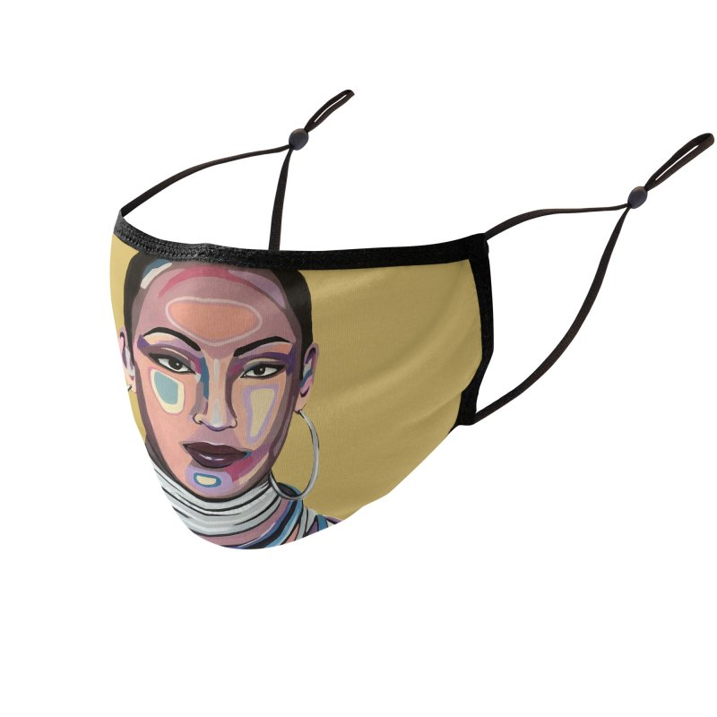 Sade Accessories Face Mask by Carla Mooking Artist Shop