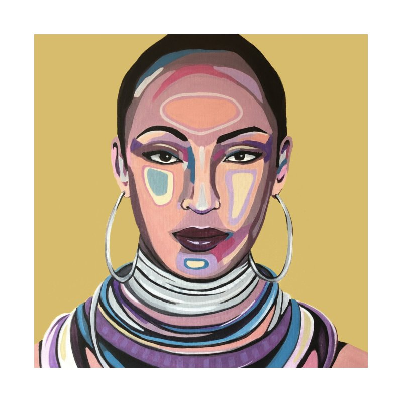 Sade Women's T-Shirt by Carla Mooking Artist Shop