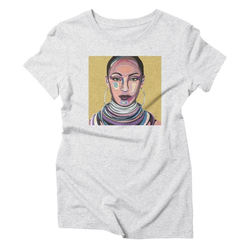Sade Women's T-Shirt by Carla Mooking Artist Shop