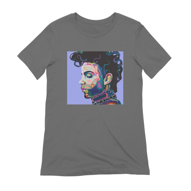 Prince Women's Extra Soft T-Shirt by Carla Mooking Artist Shop