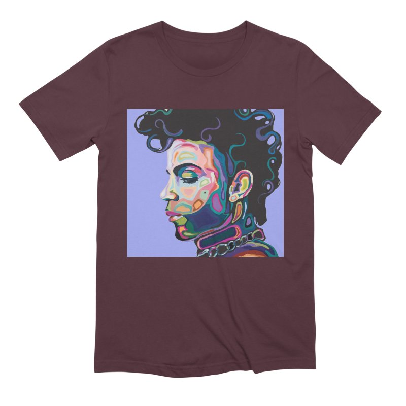 Prince Men's Extra Soft T-Shirt by Carla Mooking Artist Shop
