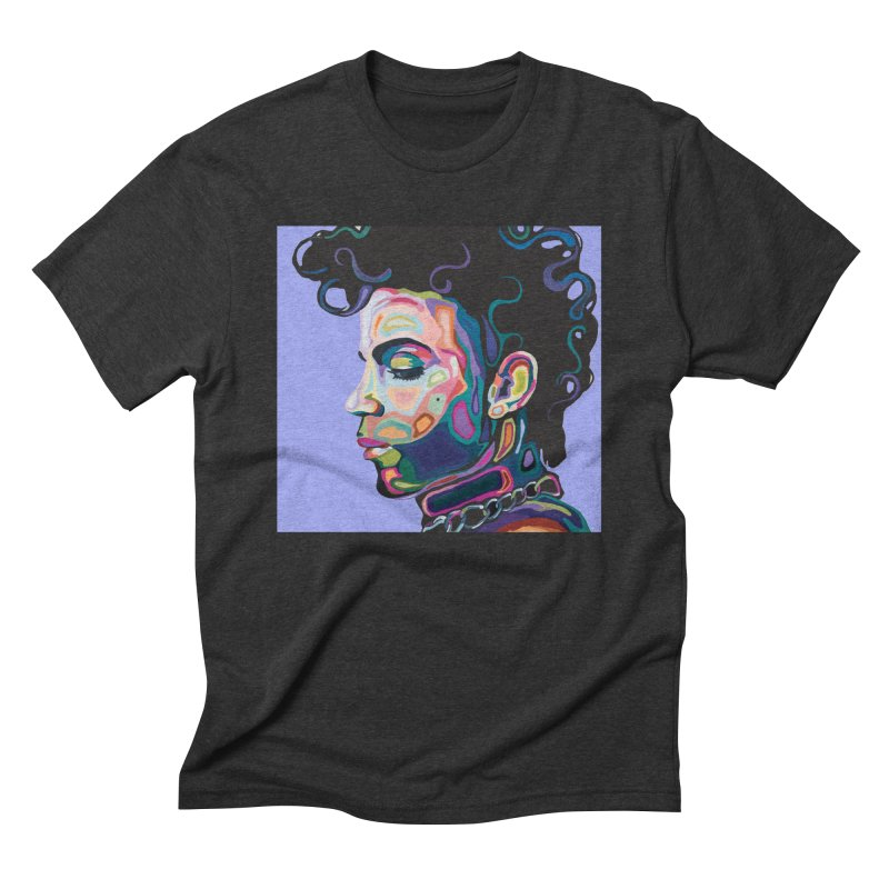 Prince Men's Triblend T-Shirt by Carla Mooking Artist Shop