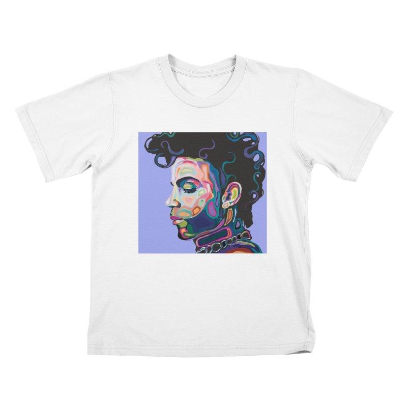 Prince Kids T-Shirt by Carla Mooking Artist Shop