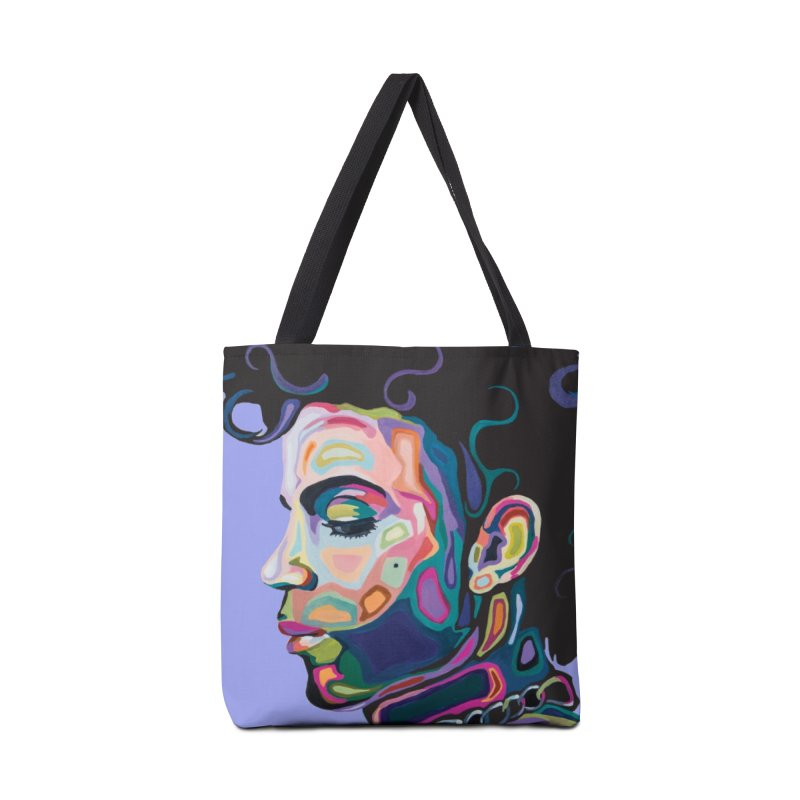 Prince Accessories Tote Bag Bag by Carla Mooking Artist Shop