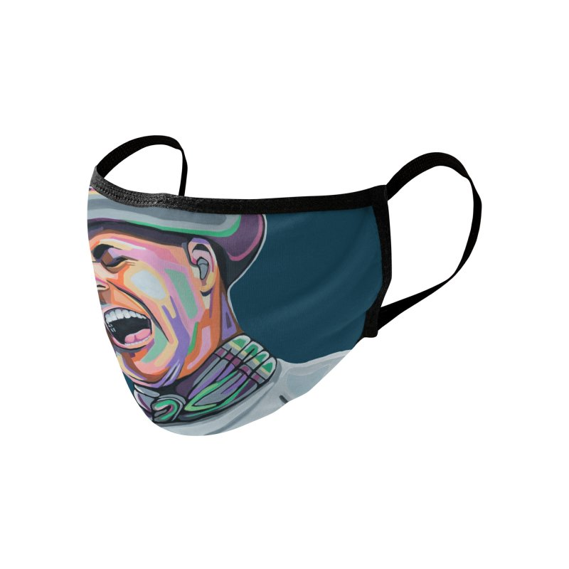 In Gord We Trust Accessories Face Mask by Carla Mooking Artist Shop