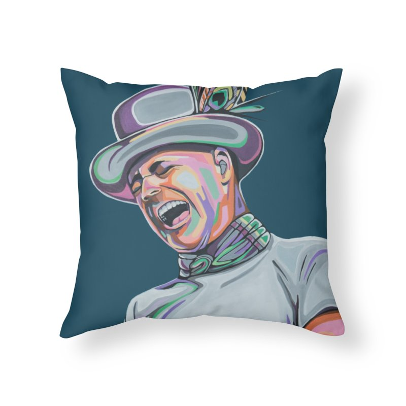 In Gord We Trust Home Throw Pillow by Carla Mooking Artist Shop