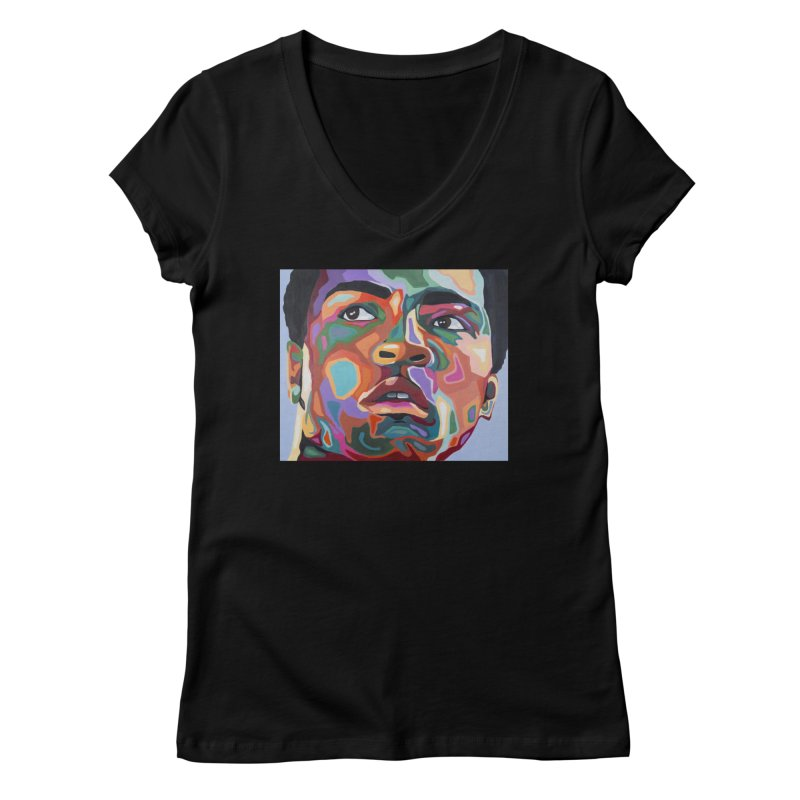 Ali Women's V-Neck by Carla Mooking Artist Shop