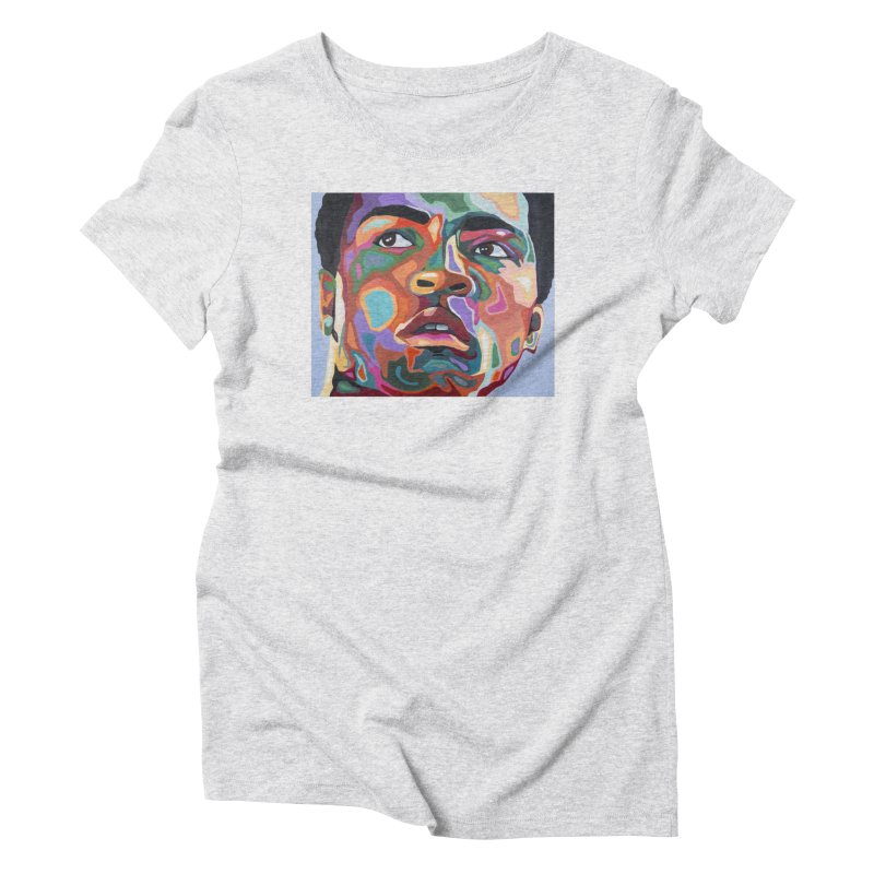 Ali Women's T-Shirt by Carla Mooking Artist Shop