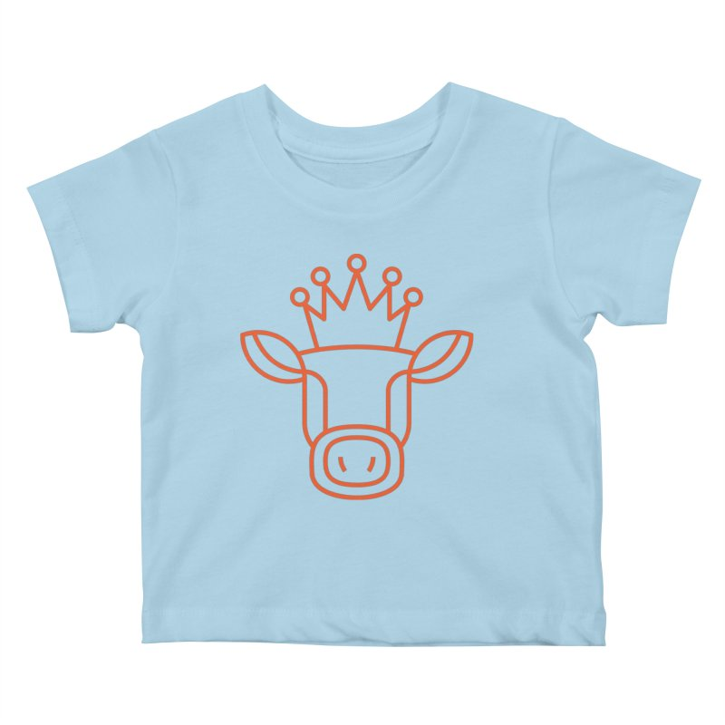 Mooking Logo Kids Baby T-Shirt by Carla Mooking Artist Shop