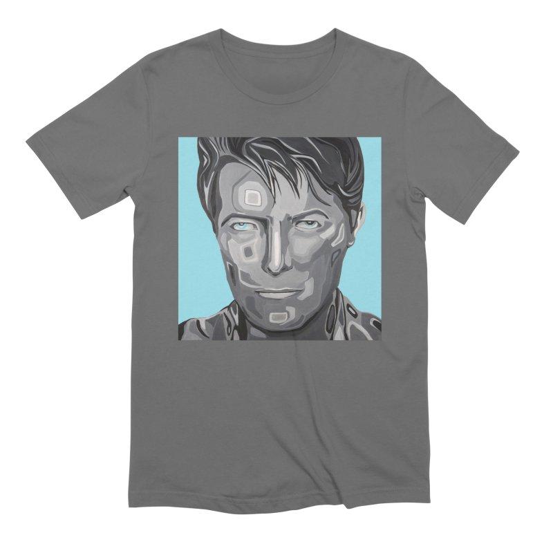 Bowie Men's T-Shirt by Carla Mooking Artist Shop