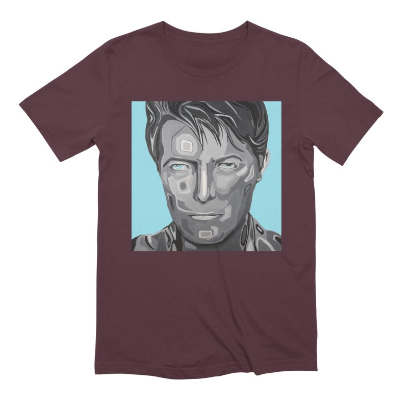 Bowie Men's T-Shirt by Carla Mooking Artist Shop