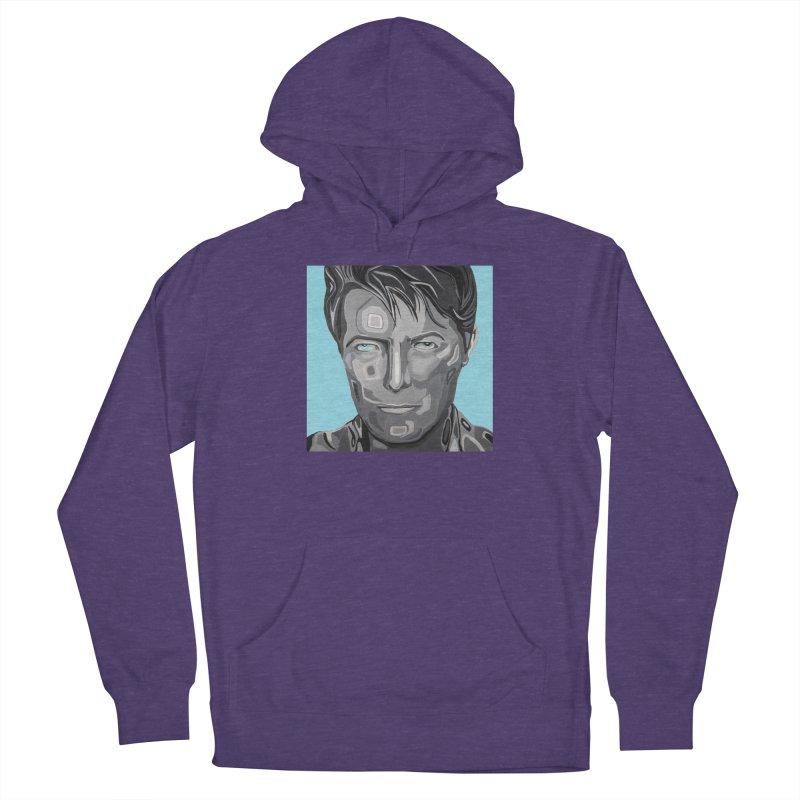 Bowie Men's Pullover Hoody by Carla Mooking Artist Shop