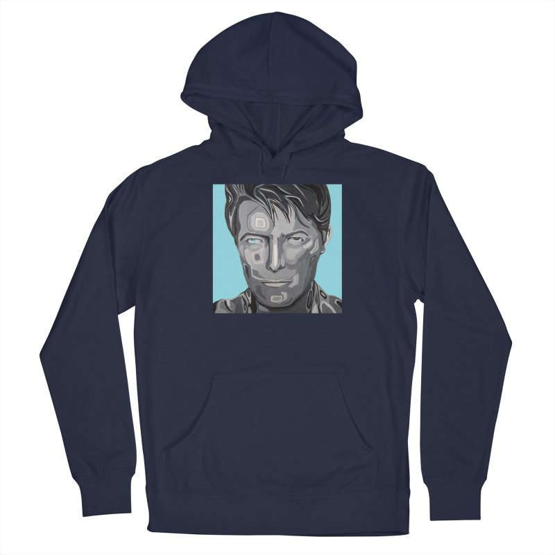 Bowie Men's Pullover Hoody by Carla Mooking Artist Shop