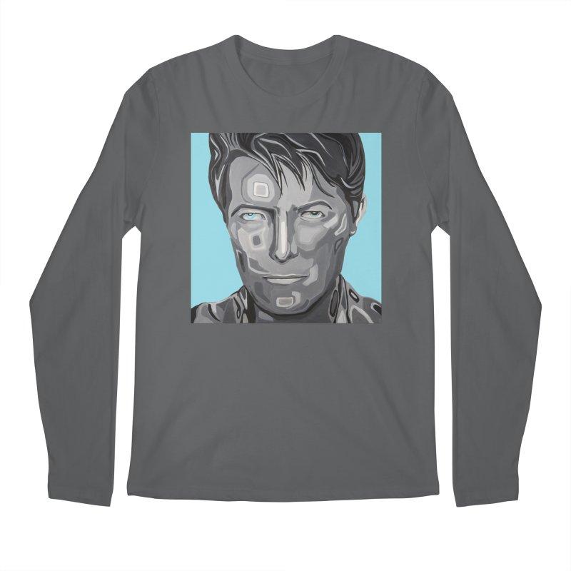 Bowie Men's Longsleeve T-Shirt by Carla Mooking Artist Shop