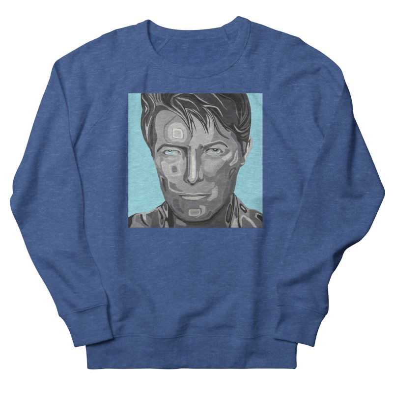 Bowie Men's Sweatshirt by Carla Mooking Artist Shop