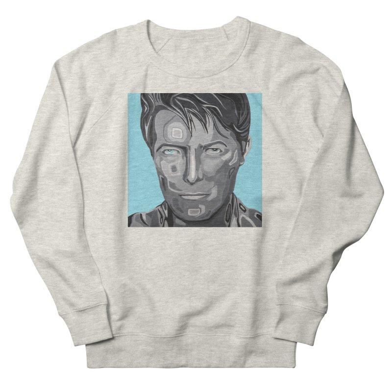 Bowie Men's Sweatshirt by Carla Mooking Artist Shop