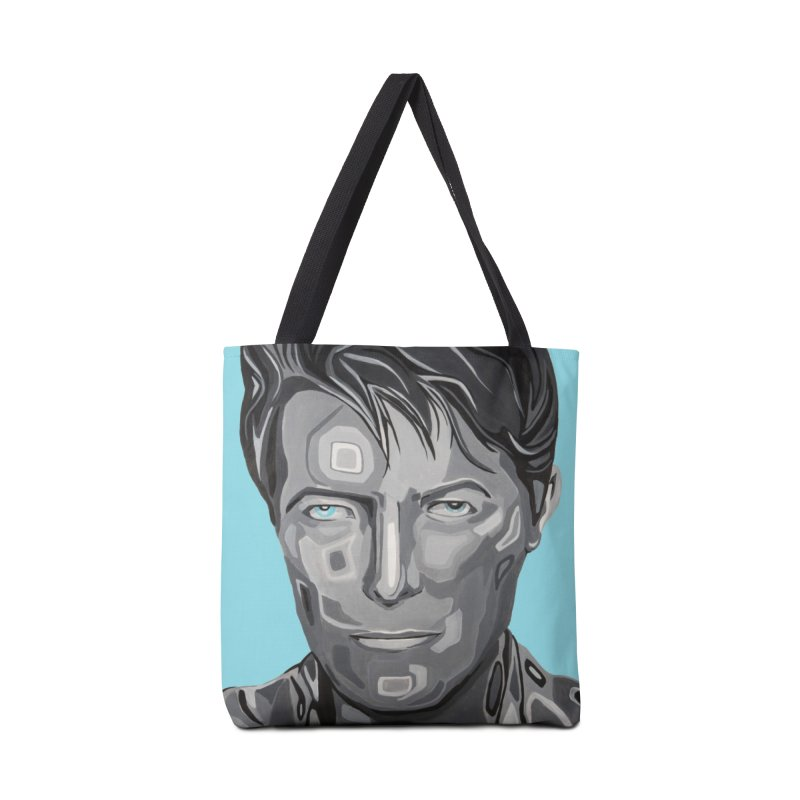 Bowie Accessories Tote Bag Bag by Carla Mooking Artist Shop