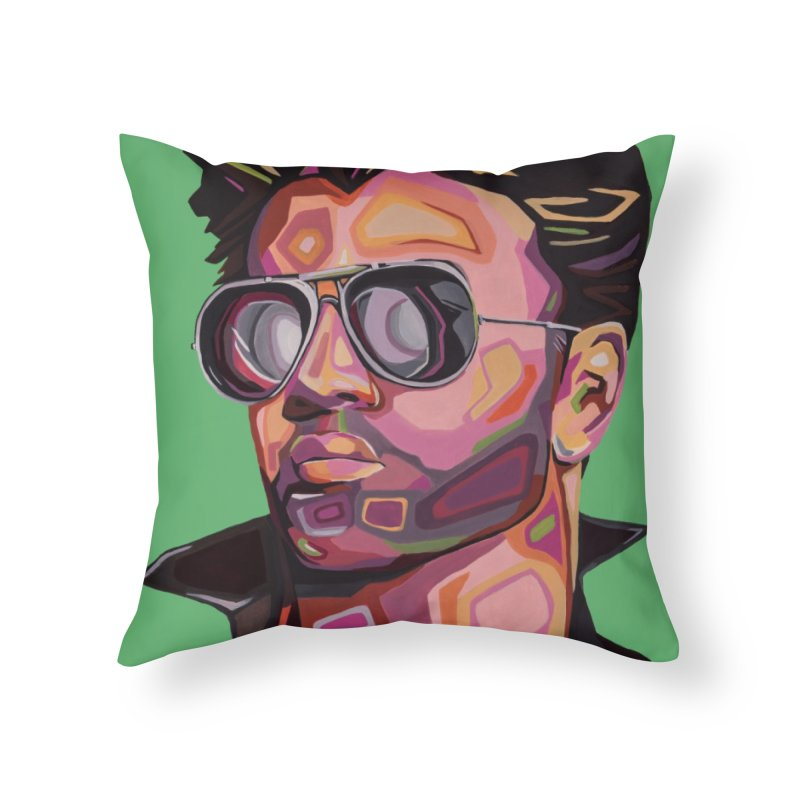 George Home Throw Pillow by Carla Mooking Artist Shop