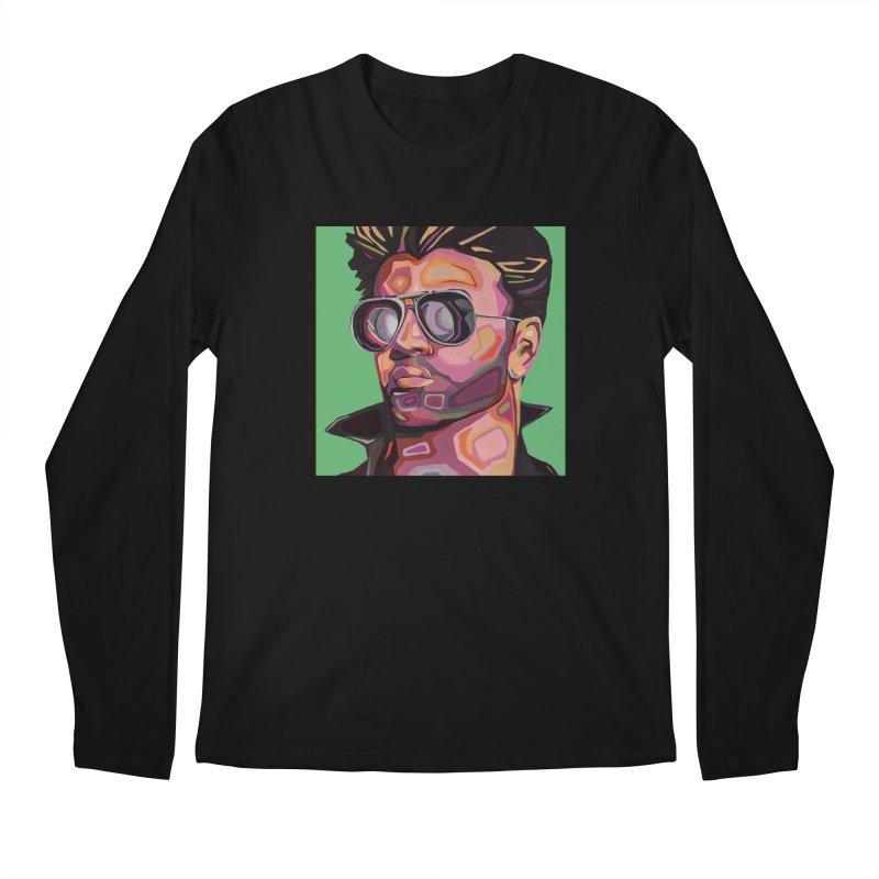 George Men's Longsleeve T-Shirt by Carla Mooking Artist Shop