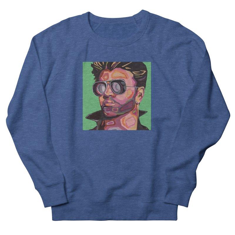 George Men's Sweatshirt by Carla Mooking Artist Shop