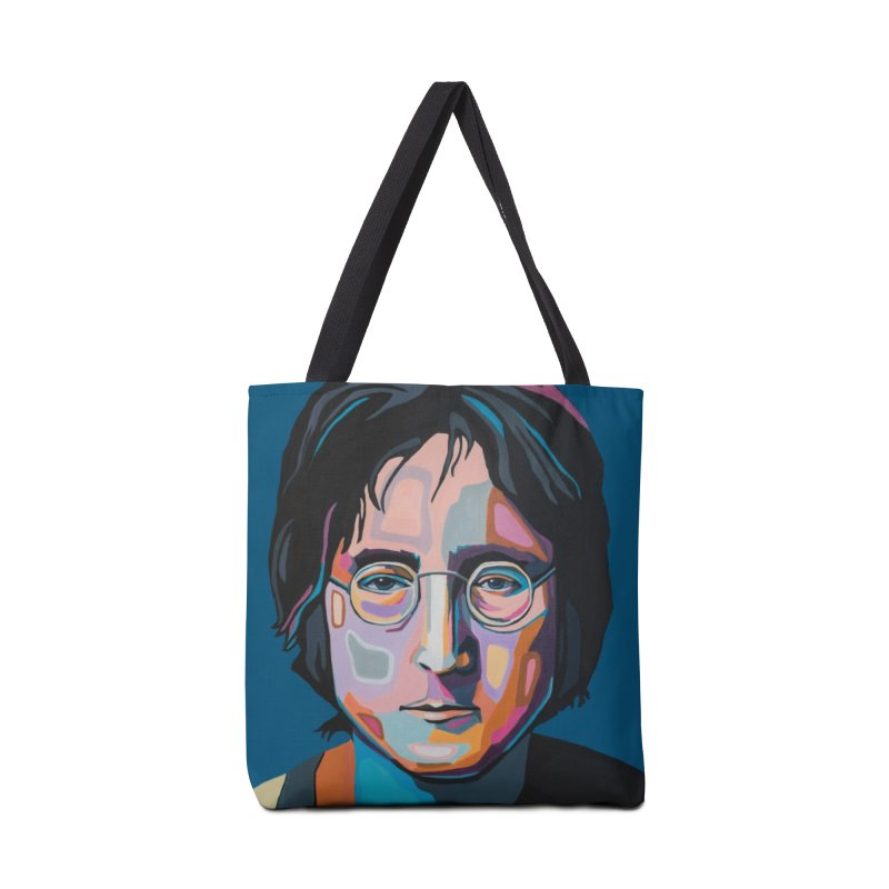 Lennon Accessories Tote Bag Bag by Carla Mooking Artist Shop
