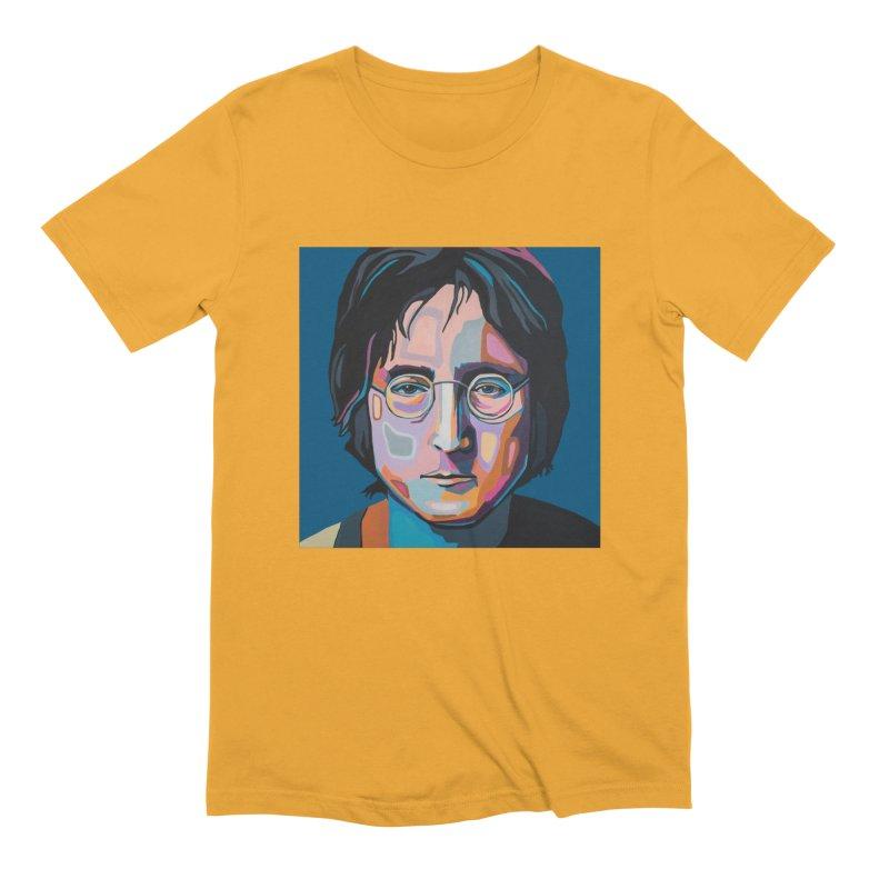 Lennon Men's T-Shirt by Carla Mooking Artist Shop