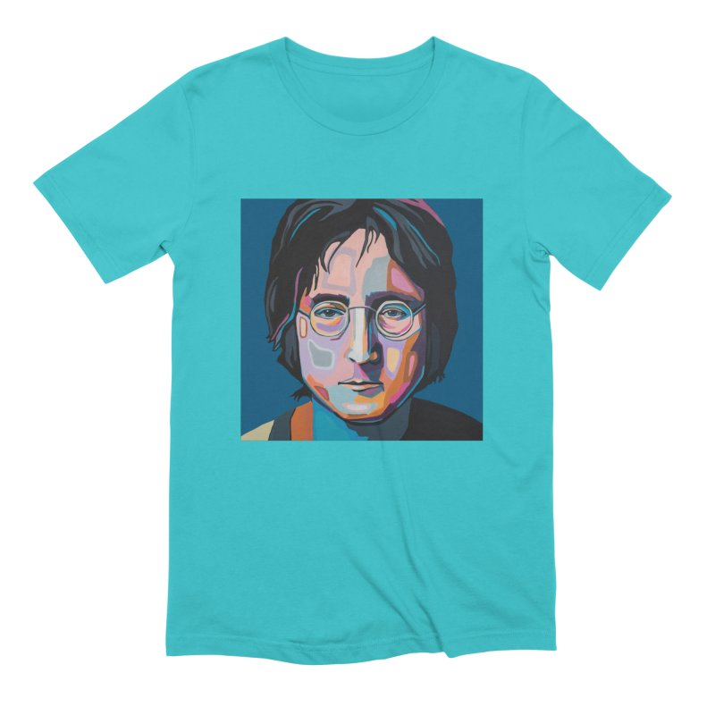 Lennon Men's Extra Soft T-Shirt by Carla Mooking Artist Shop