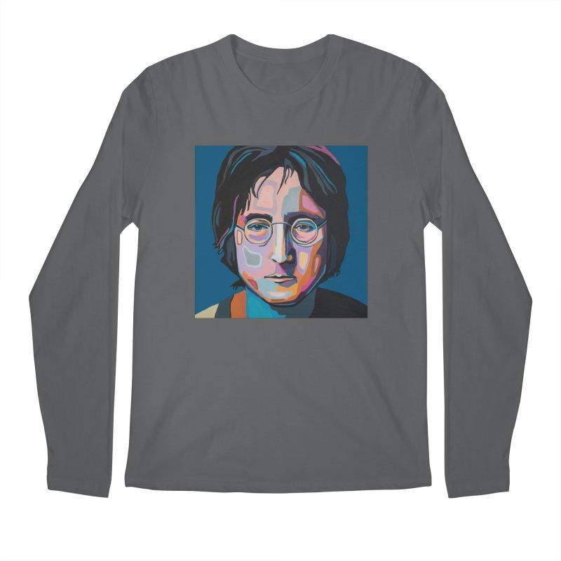 Lennon Men's Longsleeve T-Shirt by Carla Mooking Artist Shop