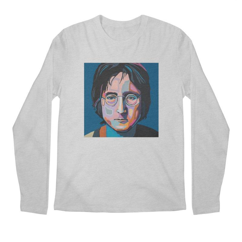 Lennon Men's Regular Longsleeve T-Shirt by Carla Mooking Artist Shop