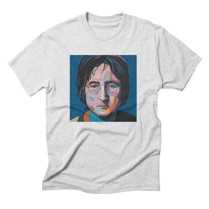 Lennon Men's Triblend T-Shirt by Carla Mooking Artist Shop