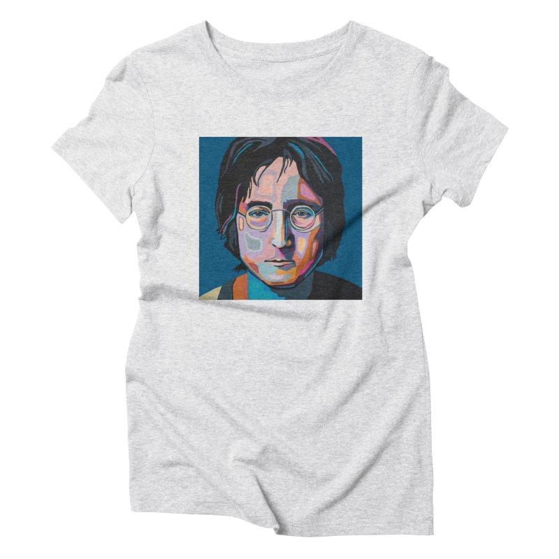 Lennon Women's T-Shirt by Carla Mooking Artist Shop