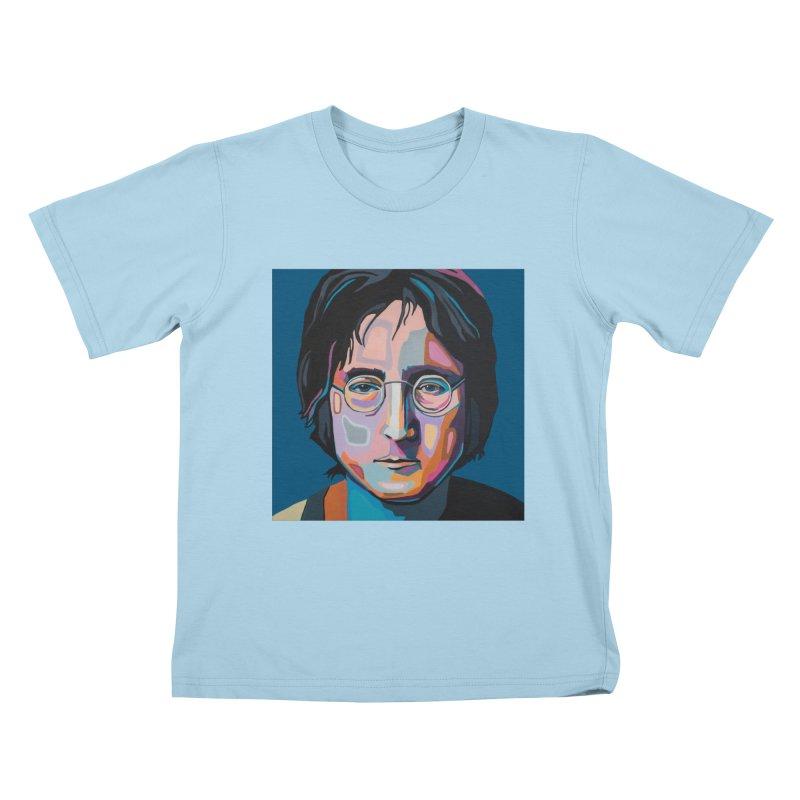 Lennon Kids T-Shirt by Carla Mooking Artist Shop