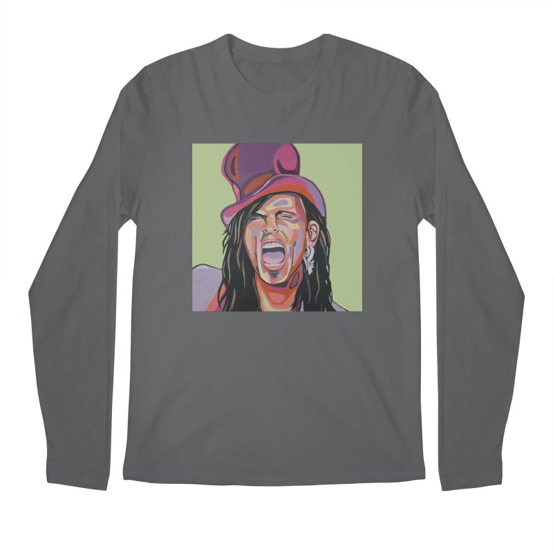 Steven Tyler Men's Longsleeve T-Shirt by Carla Mooking Artist Shop
