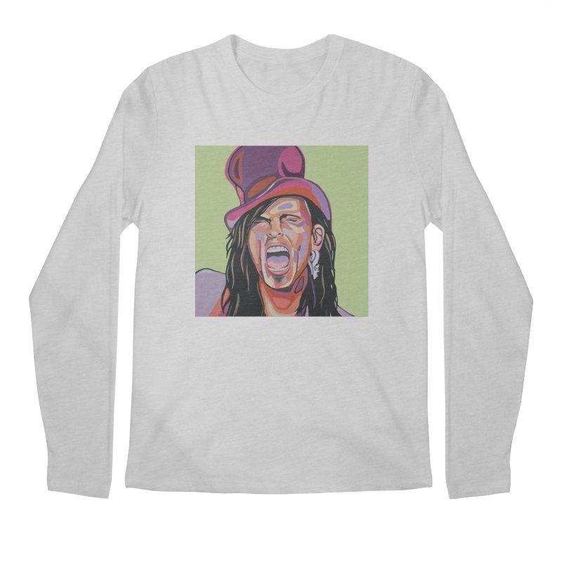 Steven Tyler Men's Longsleeve T-Shirt by Carla Mooking Artist Shop