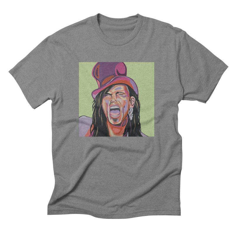 Steven Tyler Men's T-Shirt by Carla Mooking Artist Shop