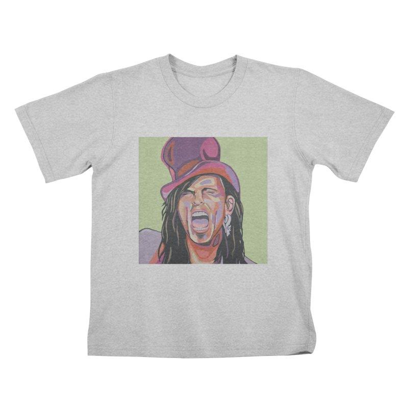 Steven Tyler Kids T-Shirt by Carla Mooking Artist Shop