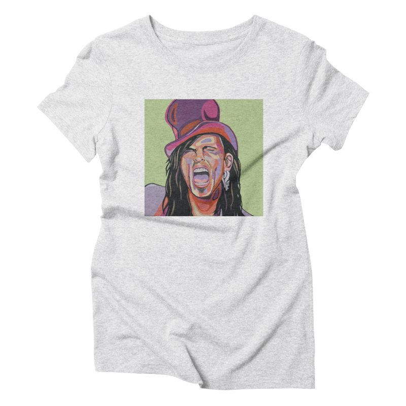 Steven Tyler Women's T-Shirt by Carla Mooking Artist Shop