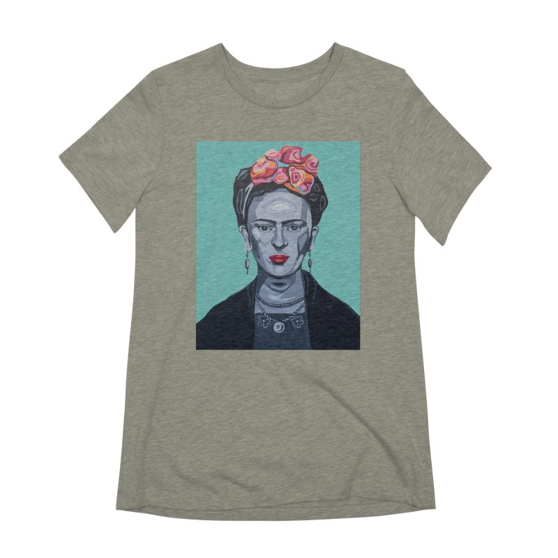 Frida Women's Extra Soft T-Shirt by Carla Mooking Artist Shop