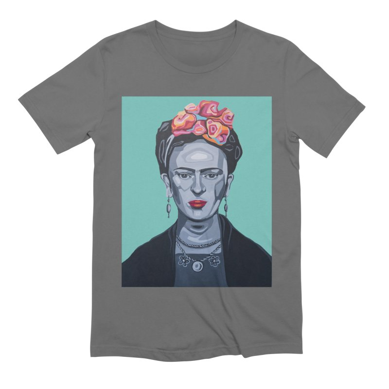 Frida Men's Extra Soft T-Shirt by Carla Mooking Artist Shop