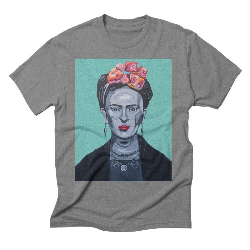 Frida Men's T-Shirt by Carla Mooking Artist Shop