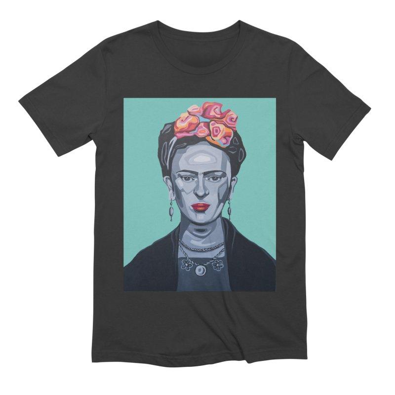 Frida Men's Extra Soft T-Shirt by Carla Mooking Artist Shop