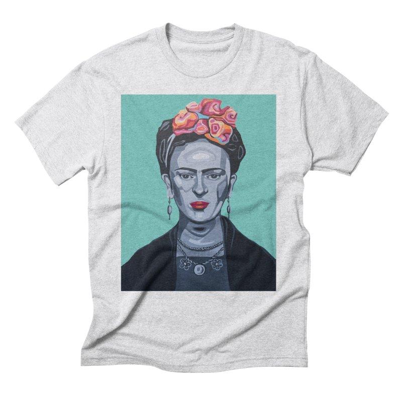 Frida Men's Triblend T-Shirt by Carla Mooking Artist Shop