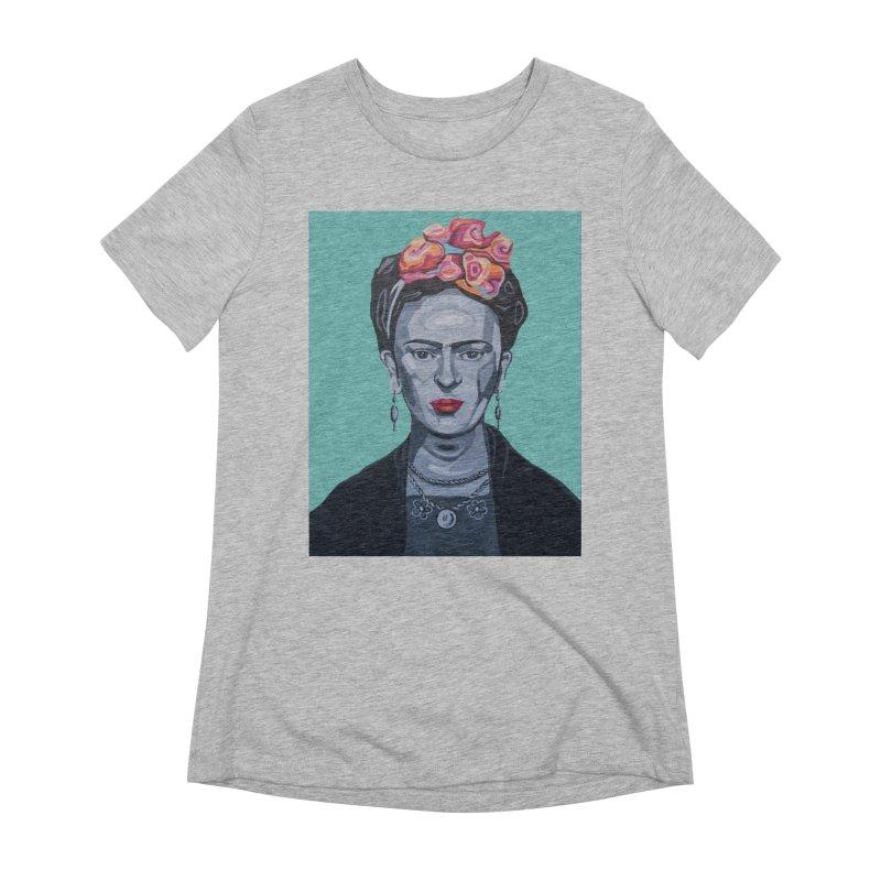 Frida Women's T-Shirt by Carla Mooking Artist Shop
