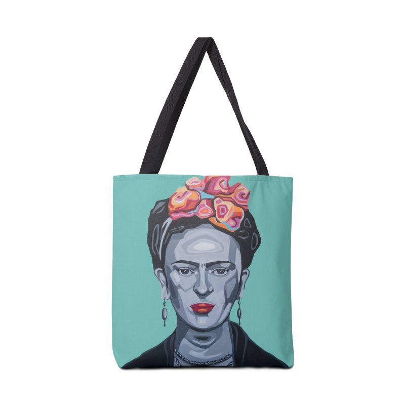 Frida Accessories Tote Bag Bag by Carla Mooking Artist Shop