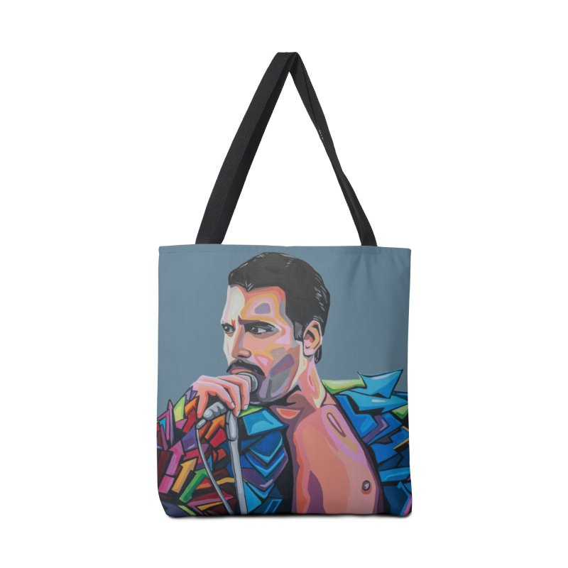 Freddie Accessories Tote Bag Bag by Carla Mooking Artist Shop