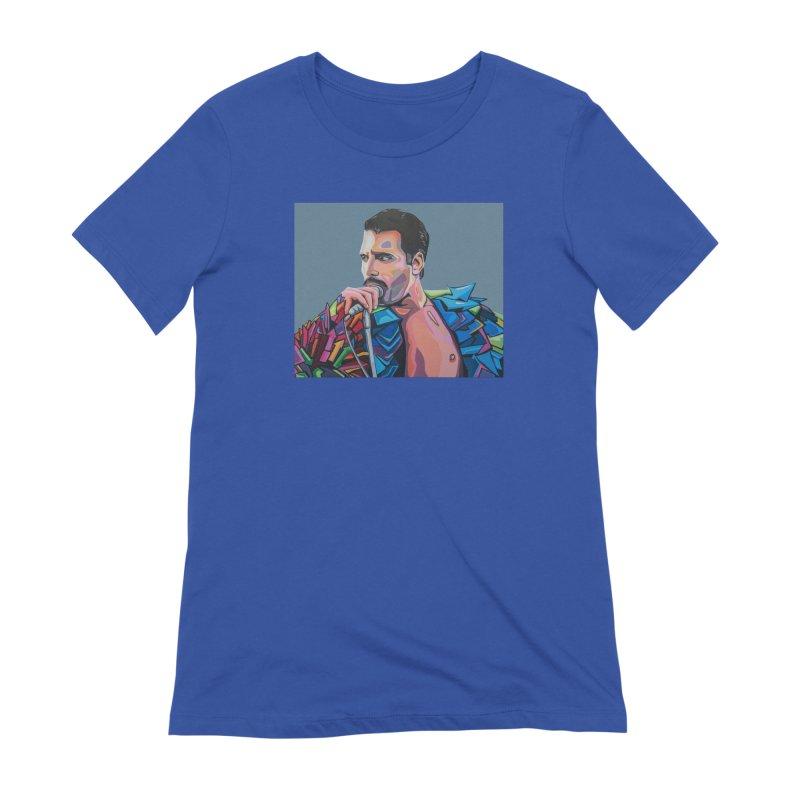 Freddie Women's Extra Soft T-Shirt by Carla Mooking Artist Shop